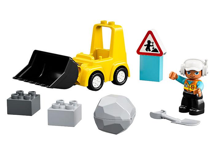 Lego-Buldozer | LEGO - 9