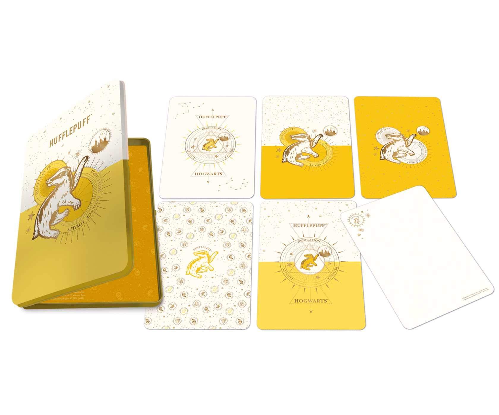 Set 20 de carti postale - Harry Potter - Hufflepuff