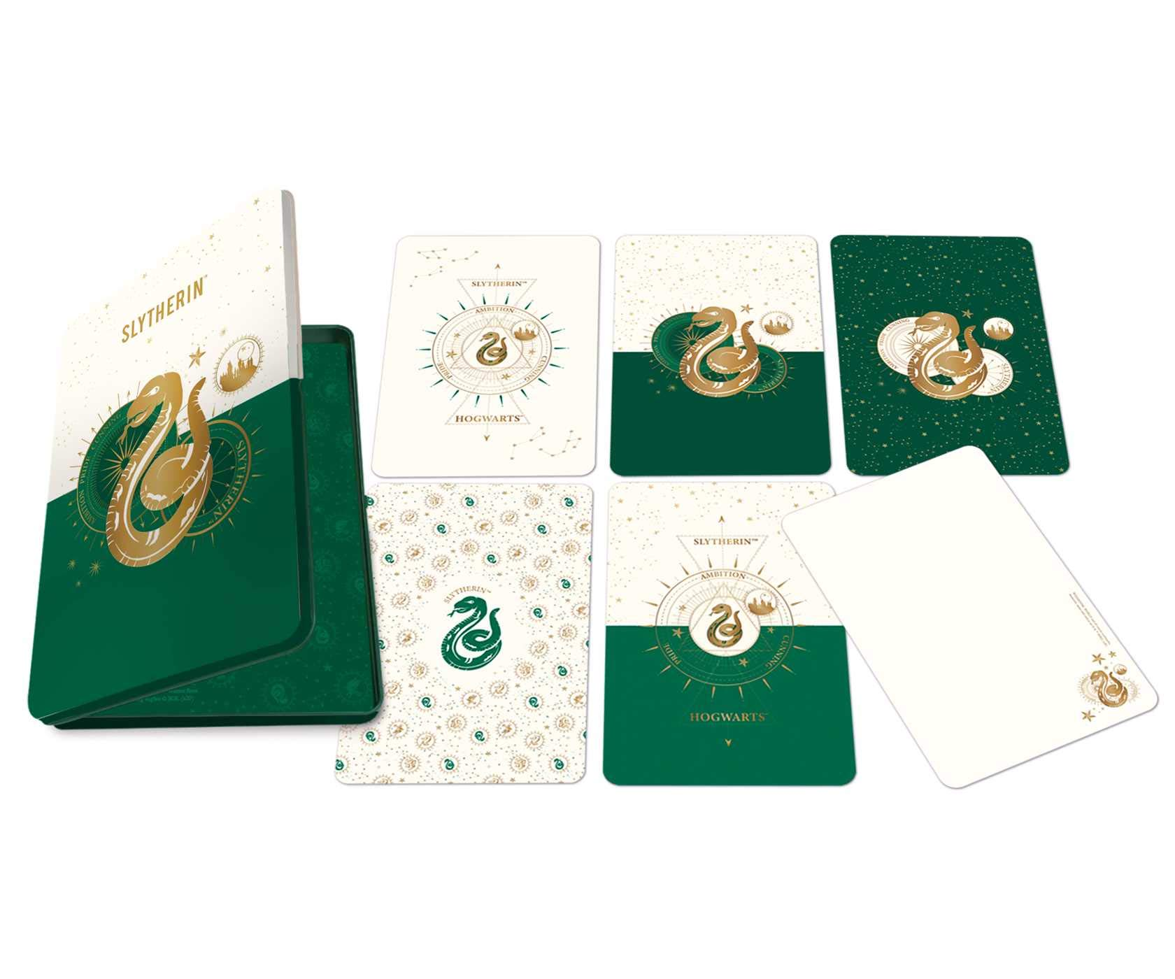 Set 20 de carti postale - Harry Potter - Slytherin