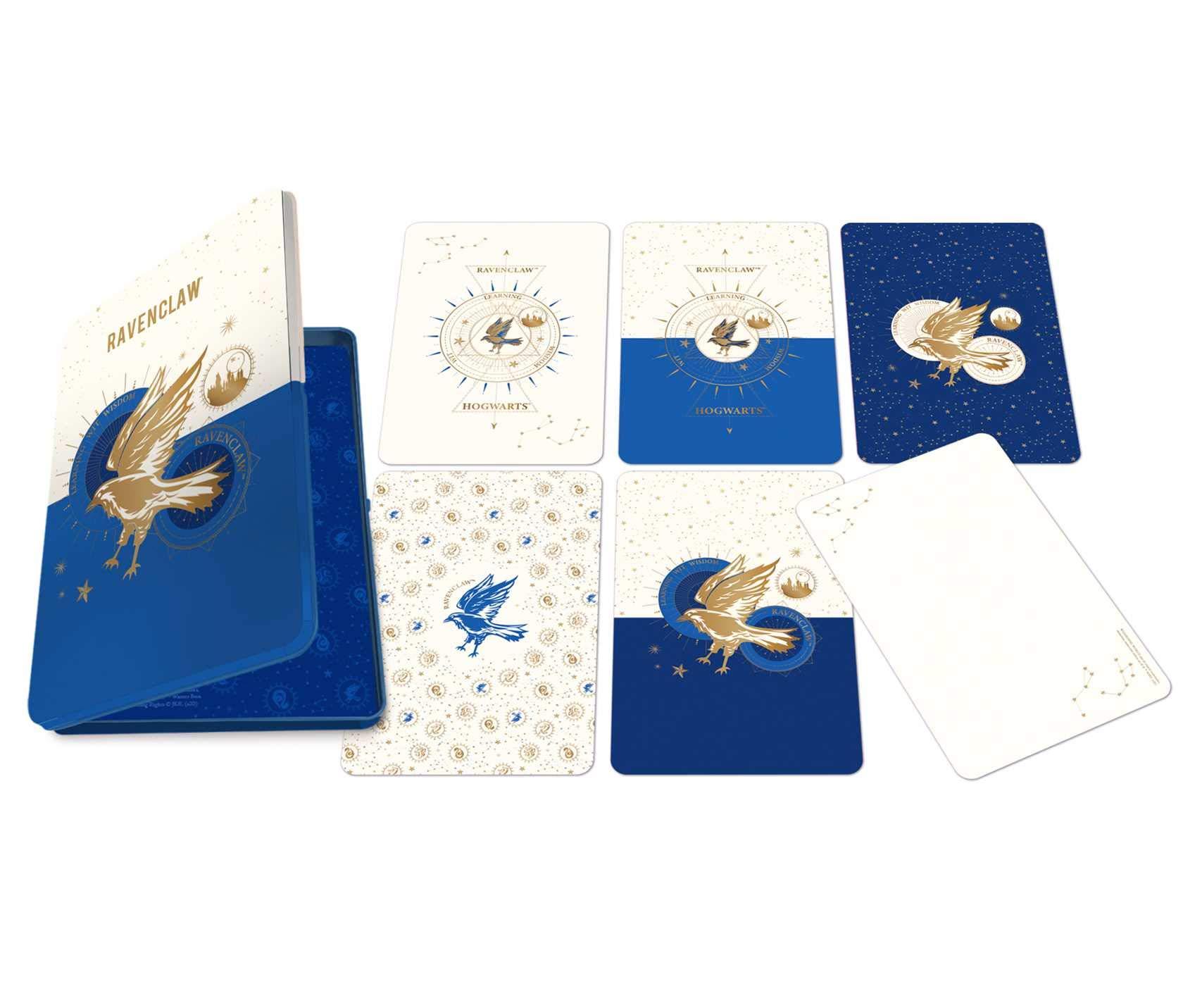 Set 20 de carti postale - Harry Potter - Ravenclaw