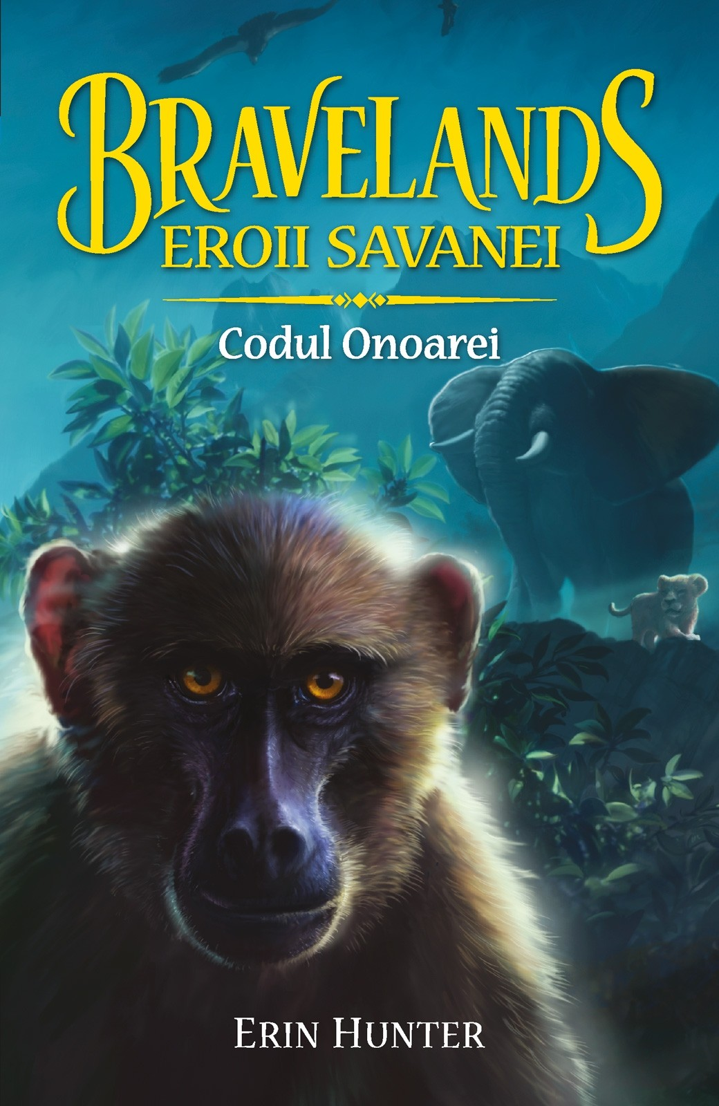 Bravelands - Eroii Savanei. Codul Onoarei | Erin Hunter