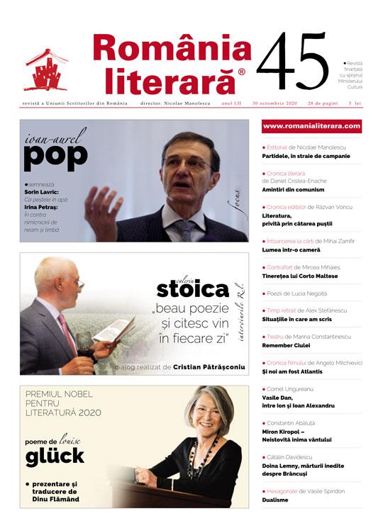 Romania literara nr. 45/2020