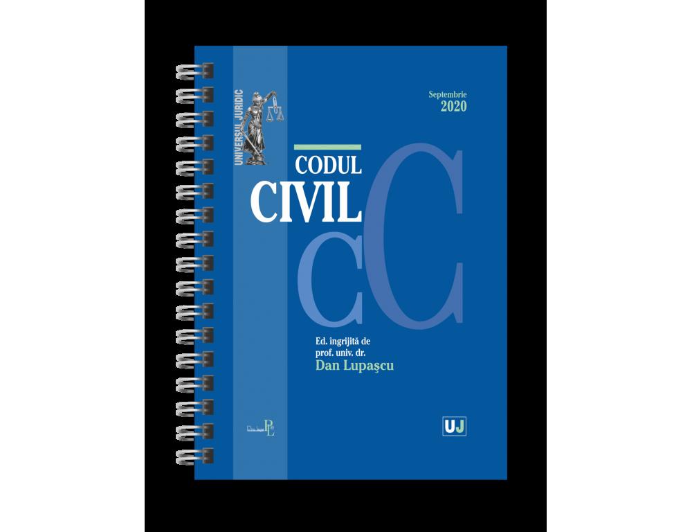 Codul civil, septembrie 2020 - editie spiralata