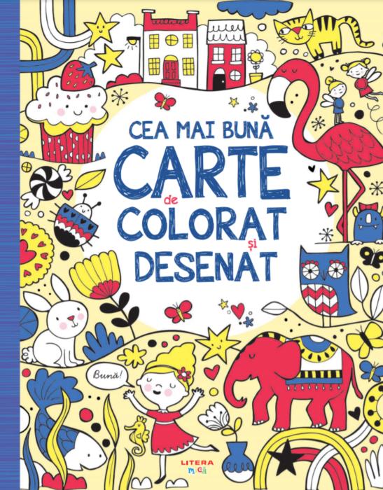 Cea mai buna carte de colorat si desenat