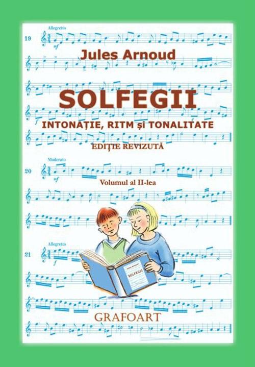 Solfegii, volumul II