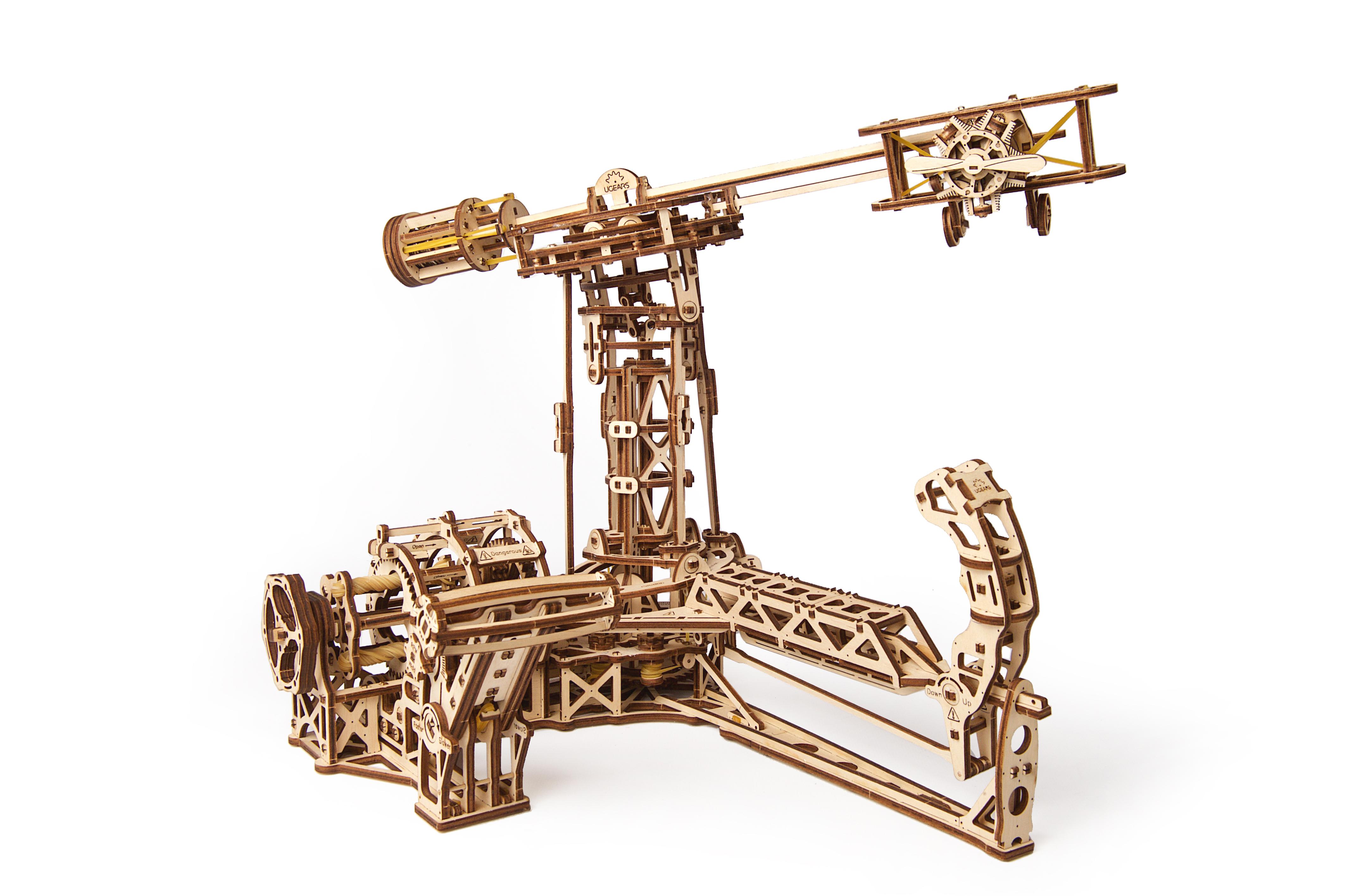 Puzzle 3D - Aviator | Ugears