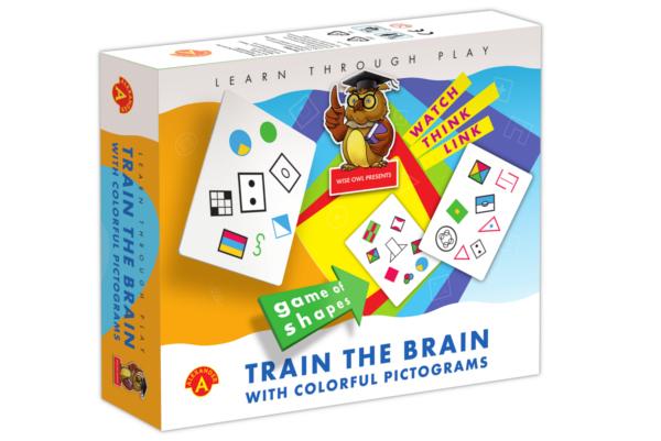 Joc educativ - Train the Brain - With Colourful Pictograms   Alexander Toys