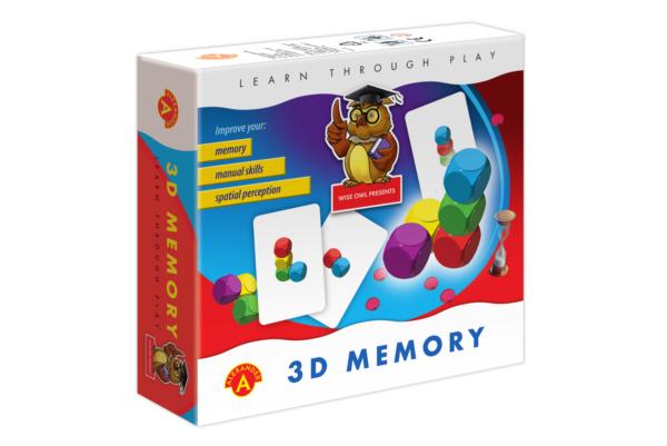 Joc educativ - 3D Memory | Alexander Toys