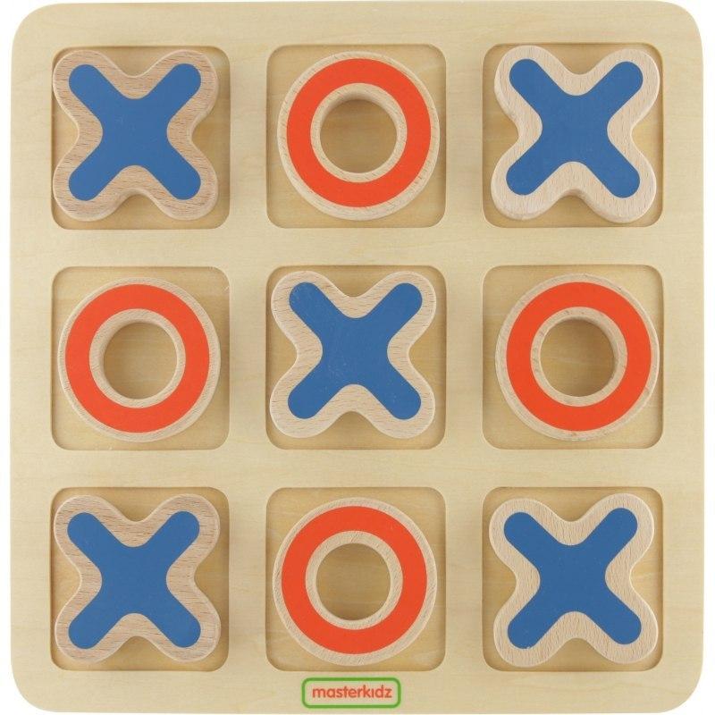 Joc din lemn - X si 0 | Masterkidz
