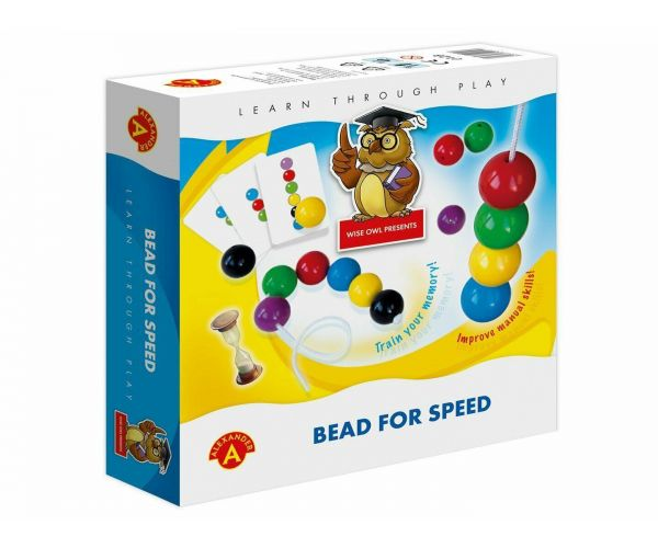 Joc educativ - Bead For Speed | Alexander Toys