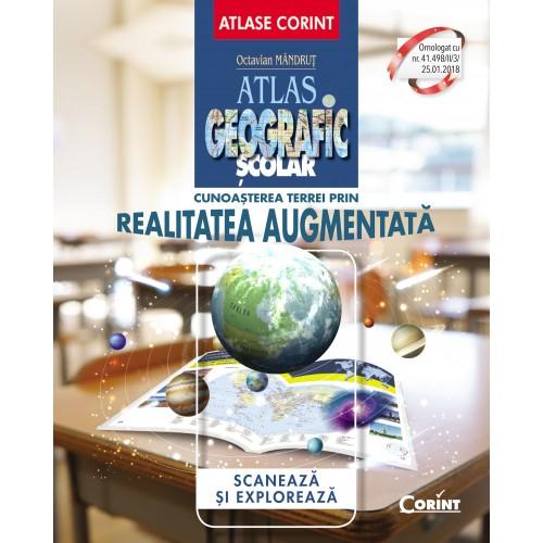 Atlas geografic scolar | Octavian Mandrut