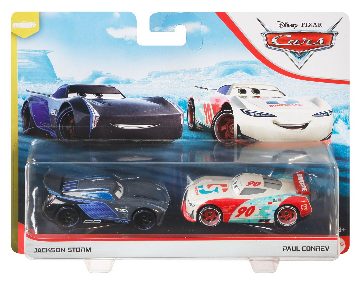 Cars3 Set 2 Masinute Metalice Jackson Storm Si Paul Conrev | CARS - Masini