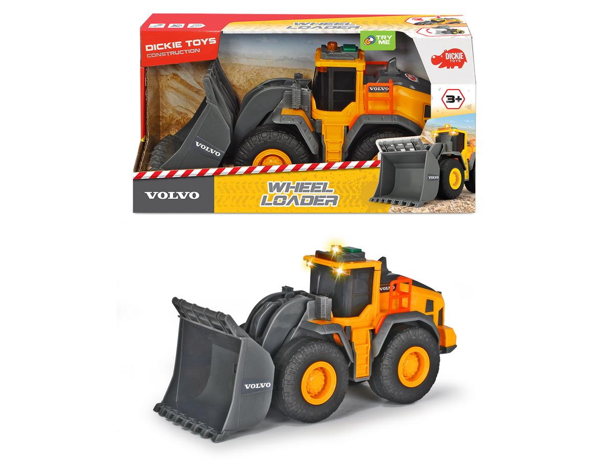 Jucarie - Buldozer Volvo / Wheel Loader | Dickie Toys
