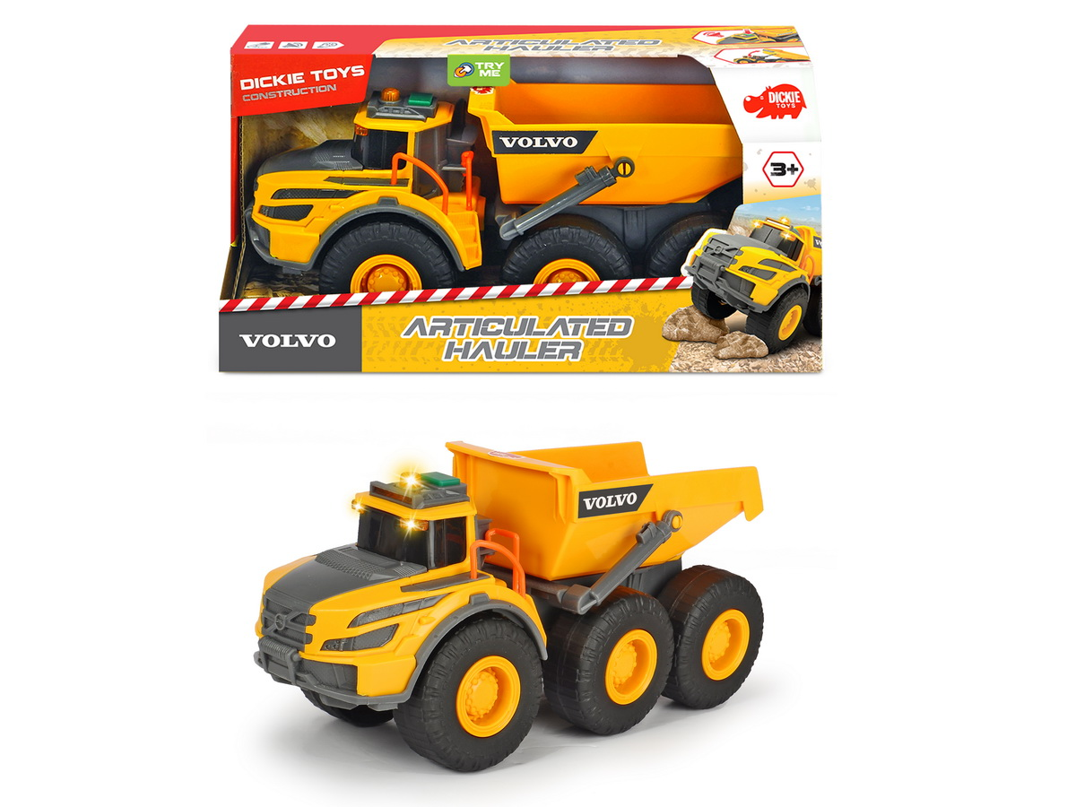 Jucarie - Basculanta Volvo / Articulated Hauler | Dickie Toys