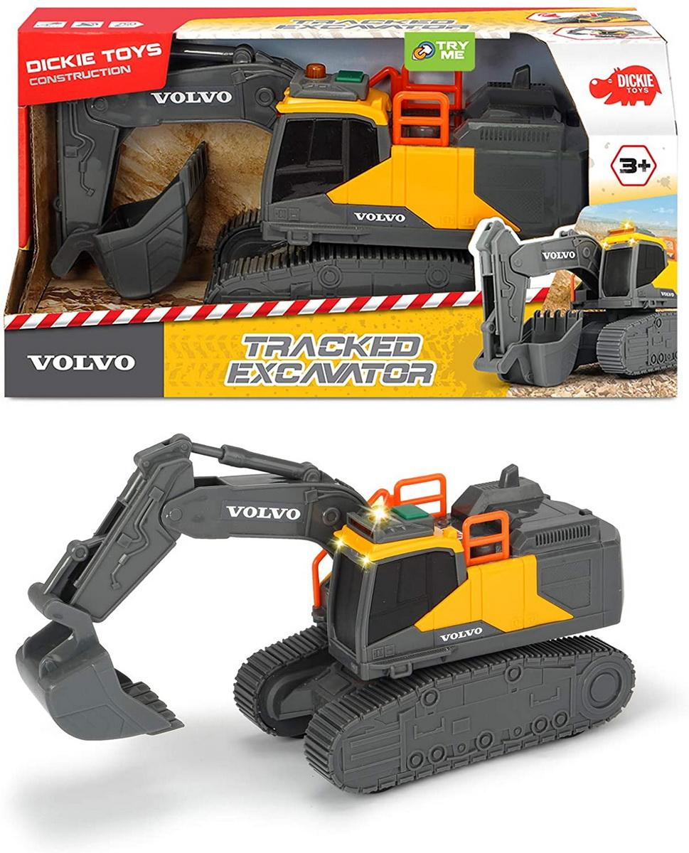 Jucarie - Volvo Excavator cu senile / Tracked Excavator | Dickie Toys