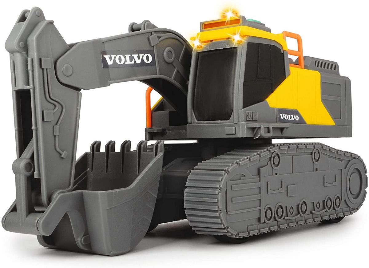 Jucarie - Volvo Excavator cu senile / Tracked Excavator | Dickie Toys - 5