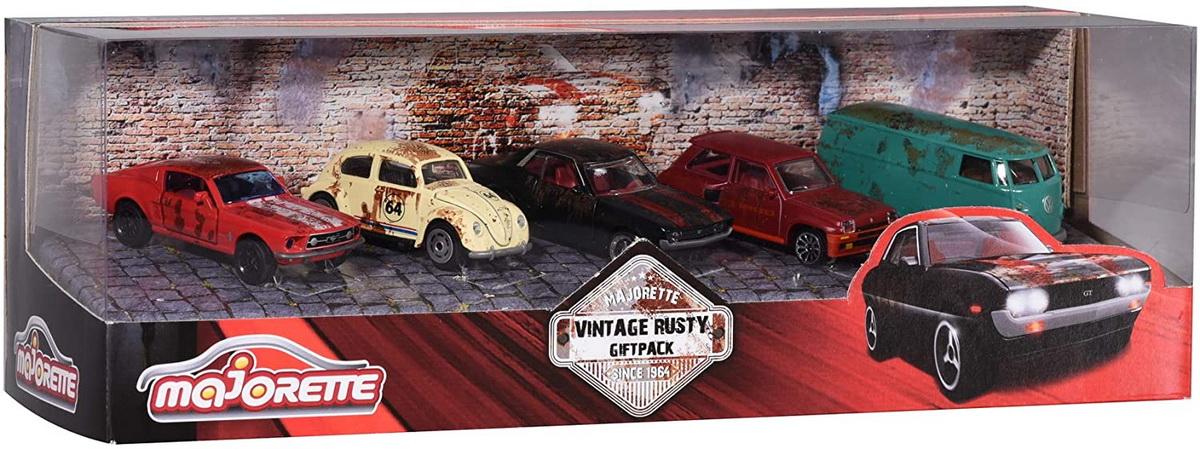 Set masinute - Majorette Vintage Rusty Giftpack | Majorette