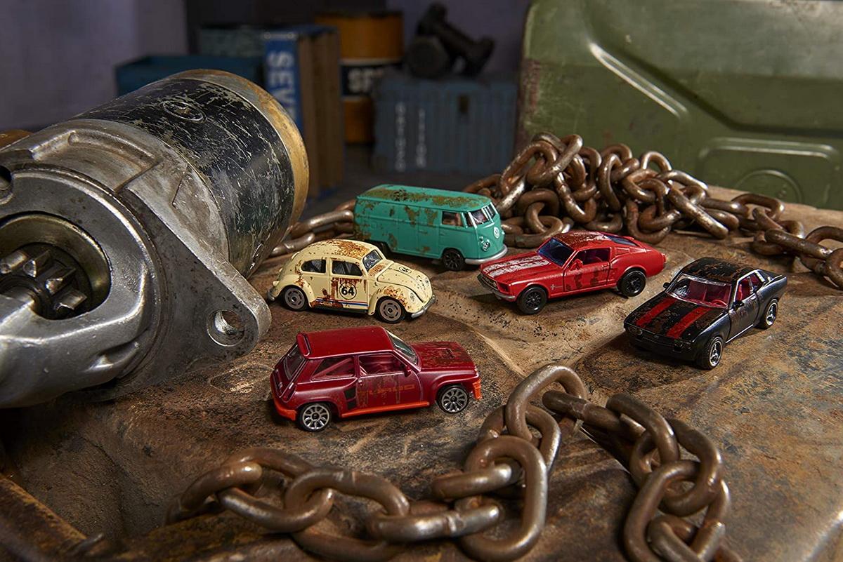Set masinute - Majorette Vintage Rusty Giftpack | Majorette - 5