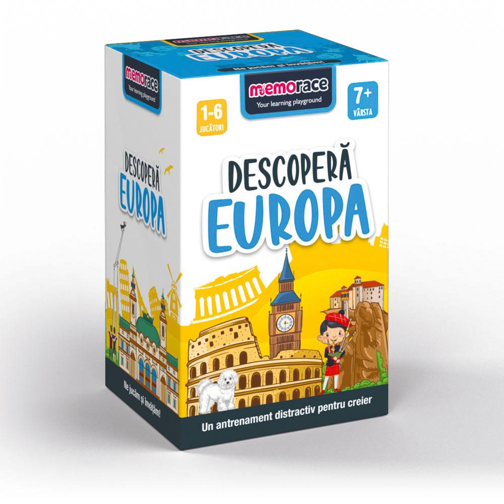 Memorace - Descopera Europa | Ludicus