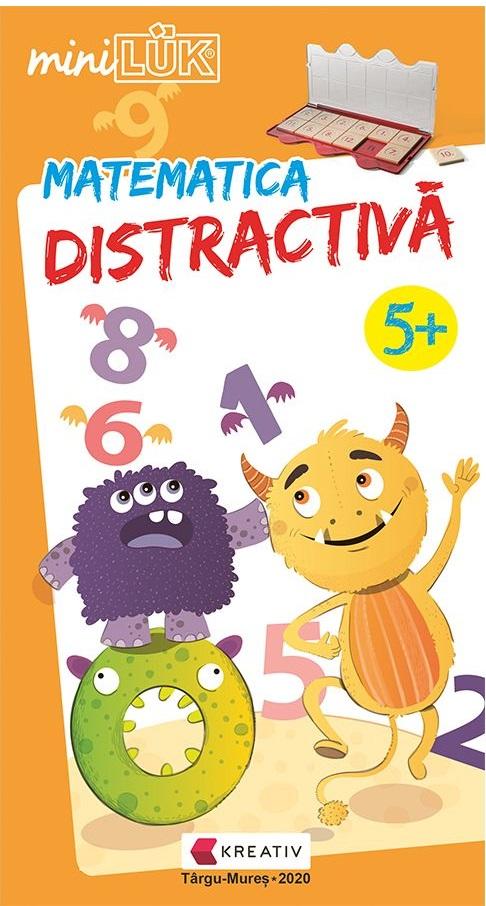 Joc educativ LUK - Matematica distractiva - 5+ |