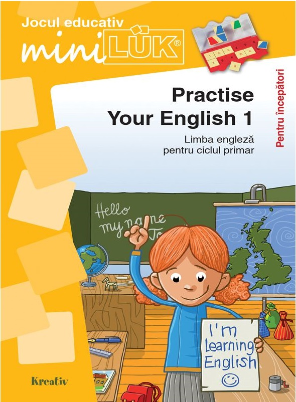 Joc educativ LUK - Practise your English 1