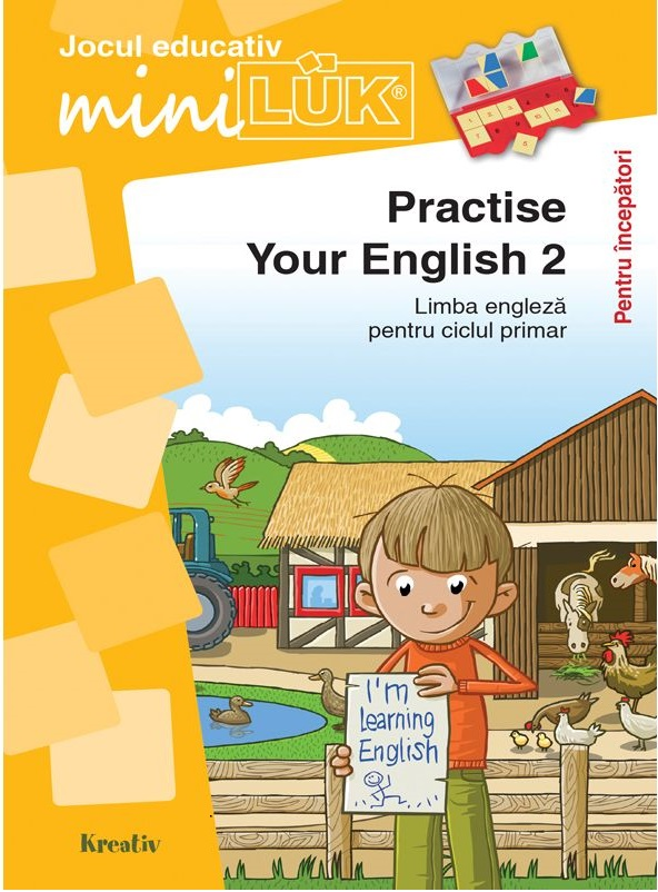 Joc educativ LUK - Practise your English 2