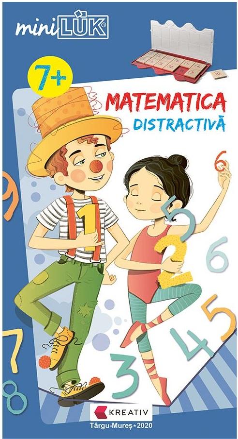 Joc educativ LUK - Matematica distractiva - 7+ |