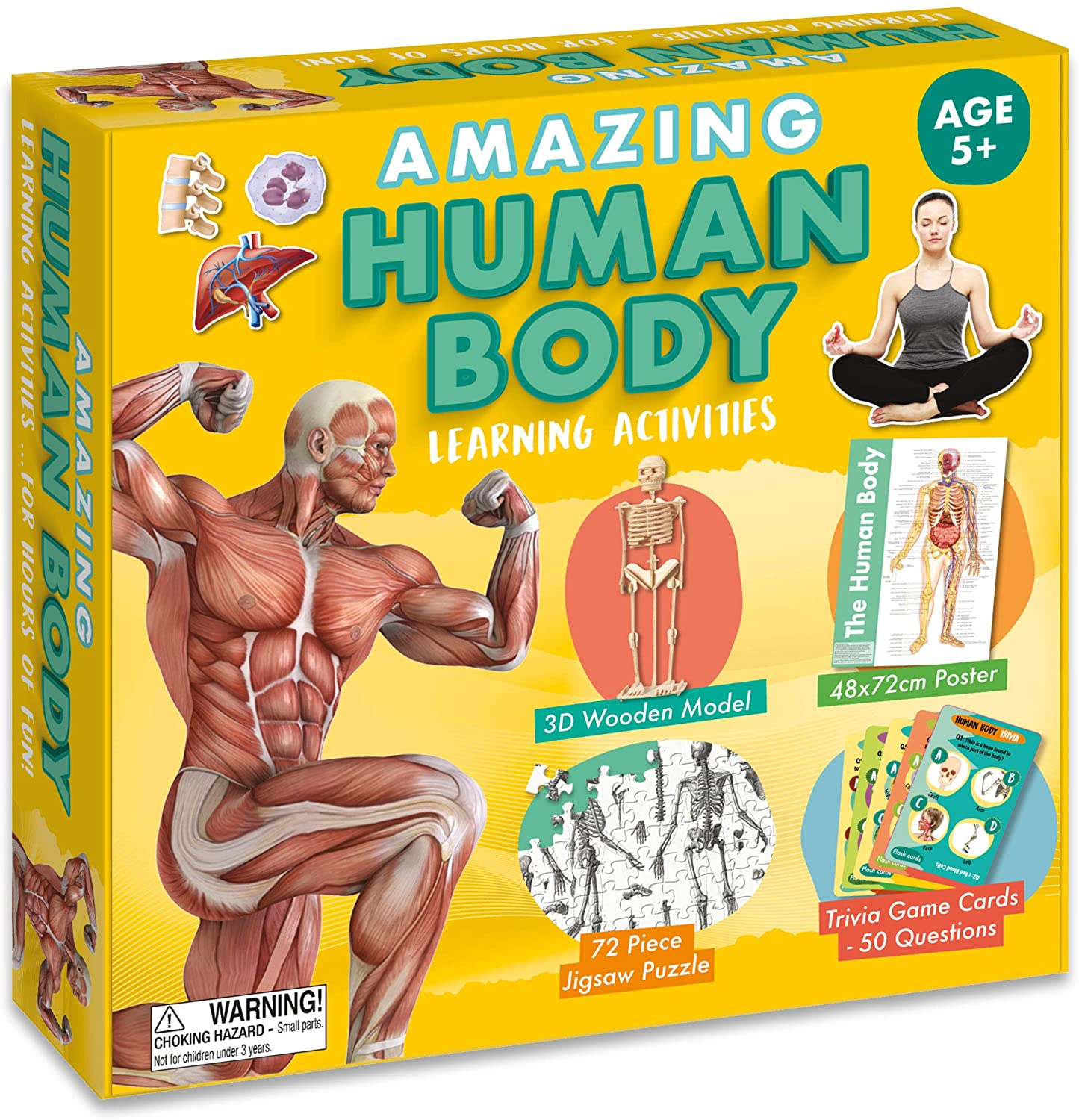 Amazing Activity set - Human Body | Robert Frederick