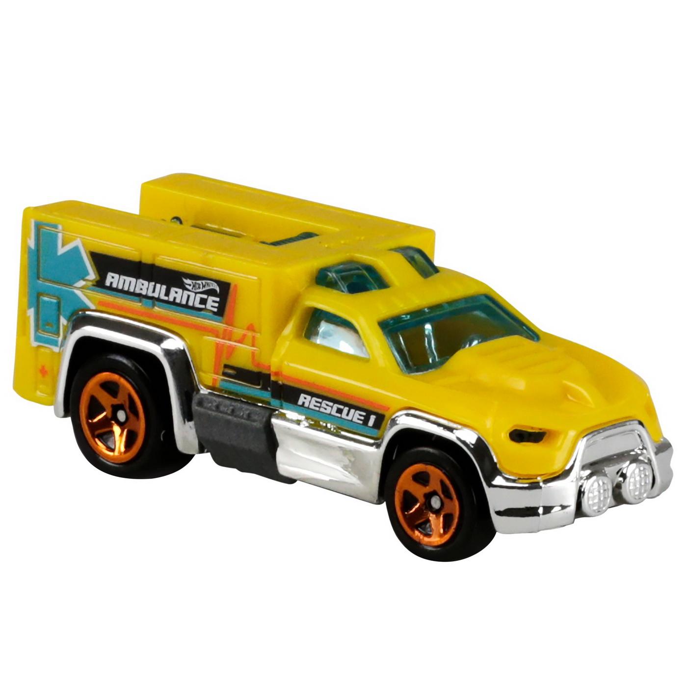 Set 5 Masini Hot Wheels Rescue | HOT WHEELS - Vehicule - 2