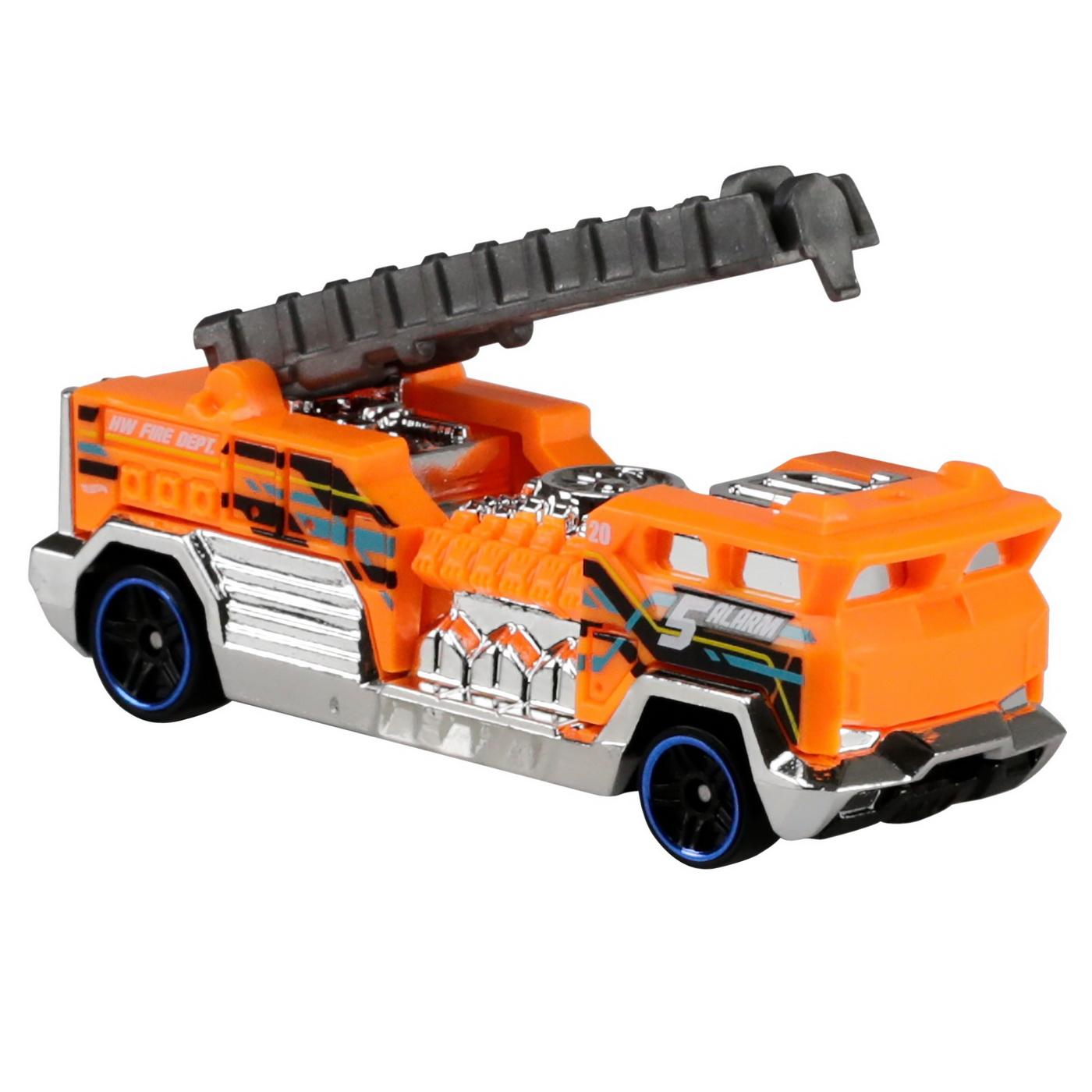 Set 5 Masini Hot Wheels Rescue | HOT WHEELS - Vehicule - 3