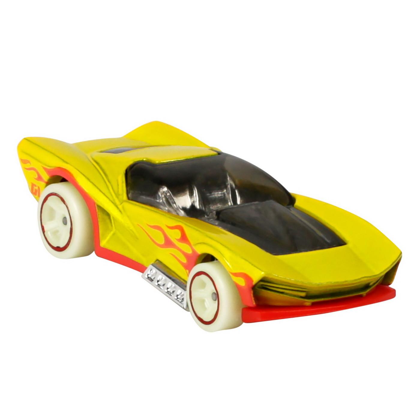 Set 5 Masini Hot Wheels cu Roti Fluorescente   HOT WHEELS - Vehicule - 1