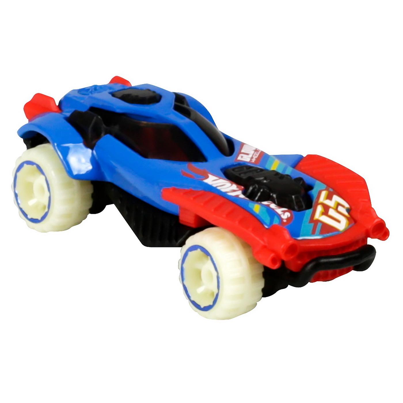 Set 5 Masini Hot Wheels cu Roti Fluorescente   HOT WHEELS - Vehicule - 2