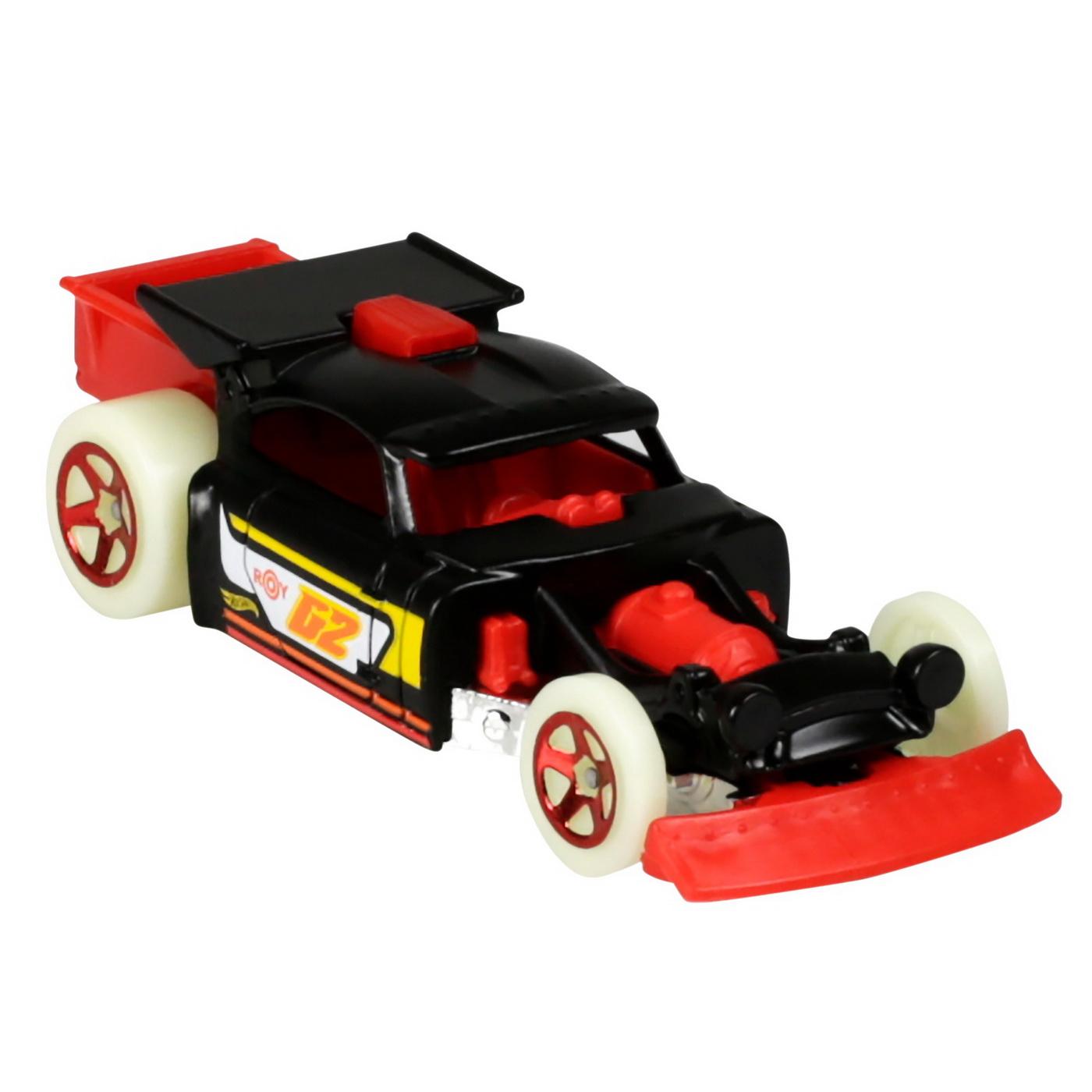 Set 5 Masini Hot Wheels cu Roti Fluorescente   HOT WHEELS - Vehicule - 3