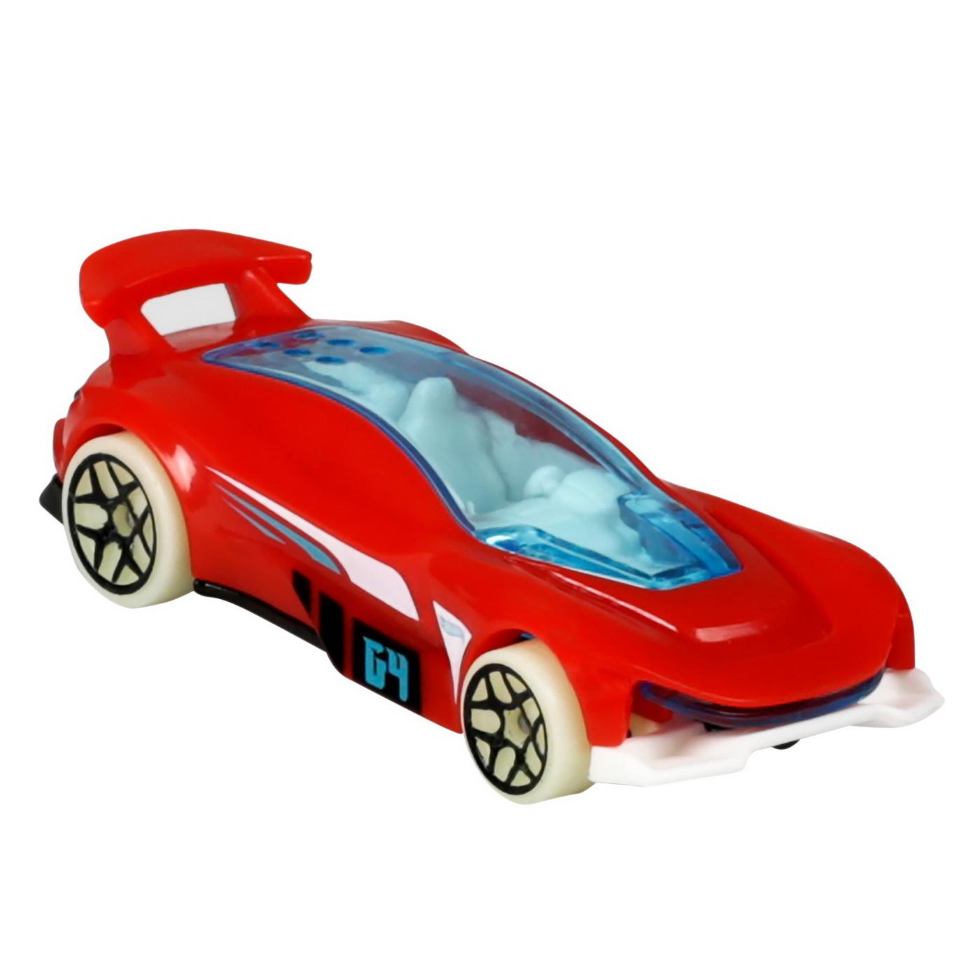 Set 5 Masini Hot Wheels cu Roti Fluorescente   HOT WHEELS - Vehicule - 5