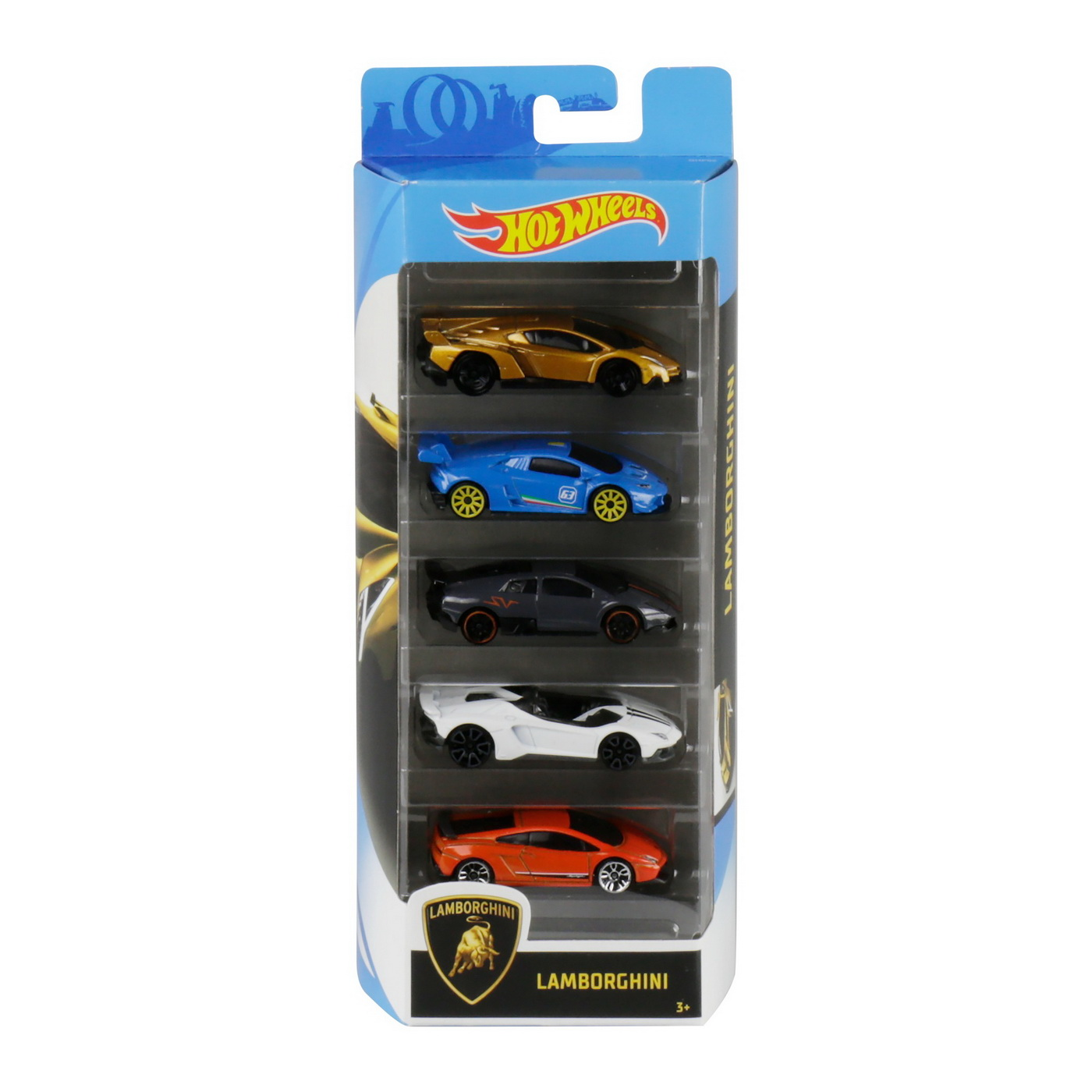 Set 5 Masini Hot Wheels Lamborghini | HOT WHEELS - Vehicule