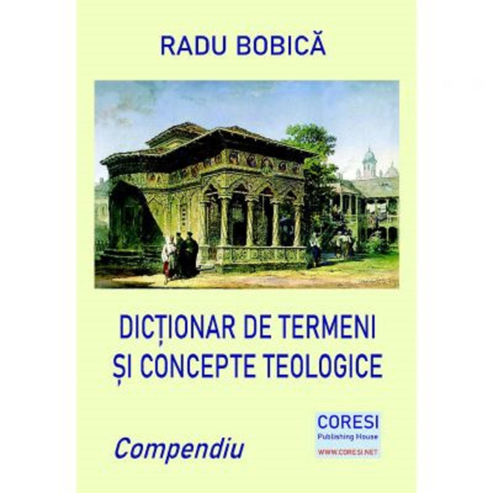 Dictionar de termeni si concepte teologice