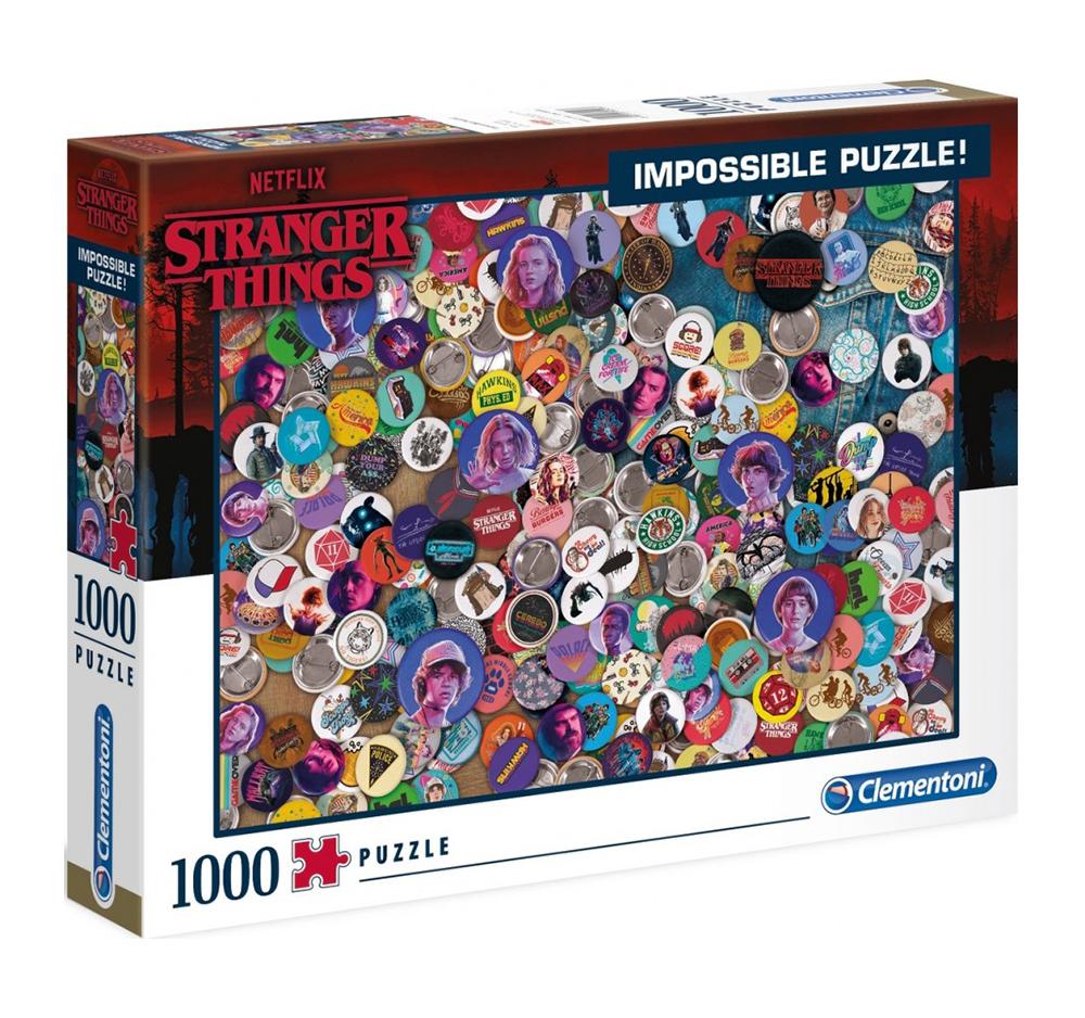 Puzzle Impossible Stranger Things 1000 De Piese Clementoni | Clementoni