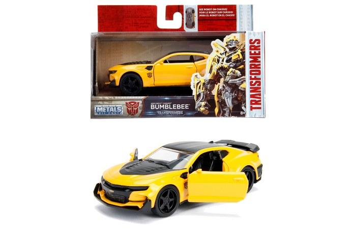 Masinuta Metalica Transformers 2016 Chevy Camaro Scara 1 La 32 | JadaToys