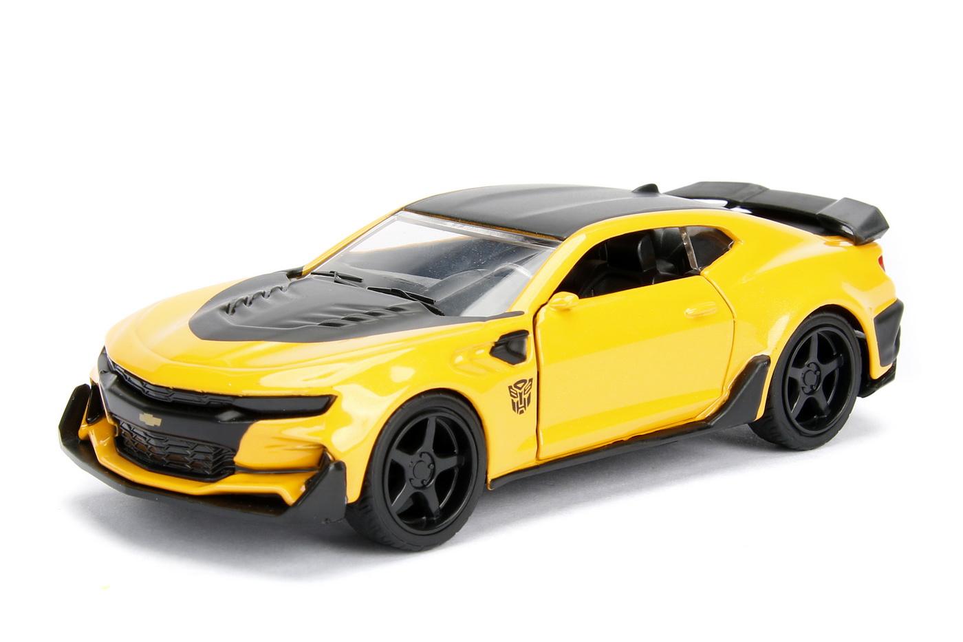 Masinuta Metalica Transformers 2016 Chevy Camaro Scara 1 La 32   JadaToys - 1