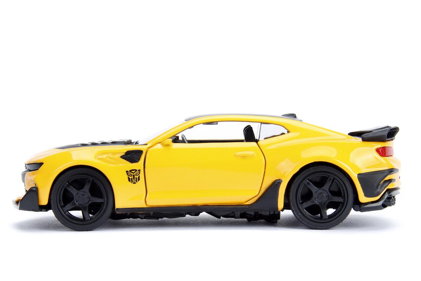 Masinuta Metalica Transformers 2016 Chevy Camaro Scara 1 La 32   JadaToys - 2