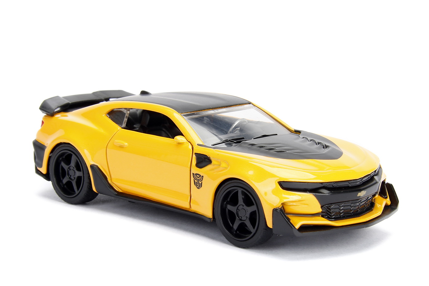 Masinuta Metalica Transformers 2016 Chevy Camaro Scara 1 La 32   JadaToys - 5