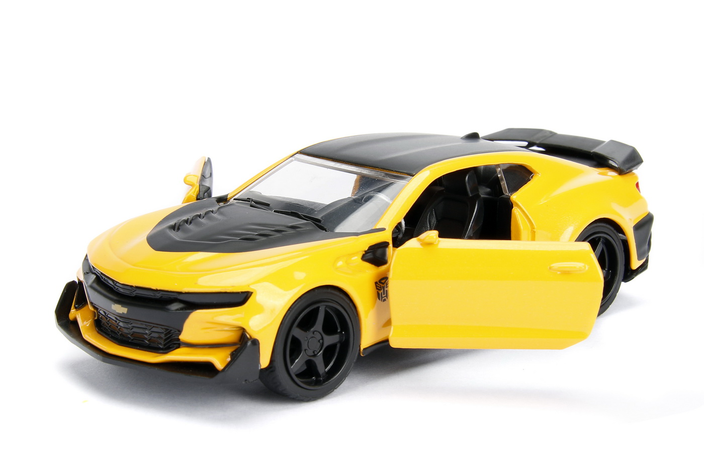 Masinuta Metalica Transformers 2016 Chevy Camaro Scara 1 La 32   JadaToys - 6