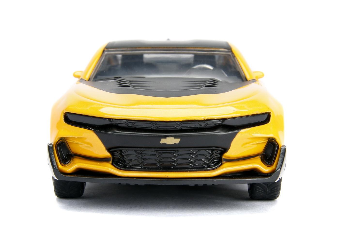 Masinuta Metalica Transformers 2016 Chevy Camaro Scara 1 La 32   JadaToys - 7