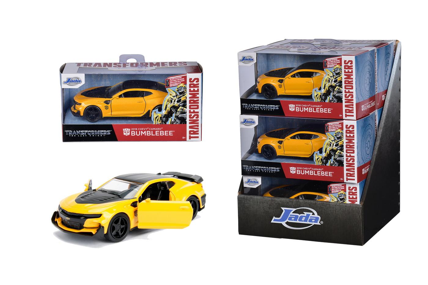 Masinuta Metalica Transformers 2016 Chevy Camaro Scara 1 La 32   JadaToys - 8