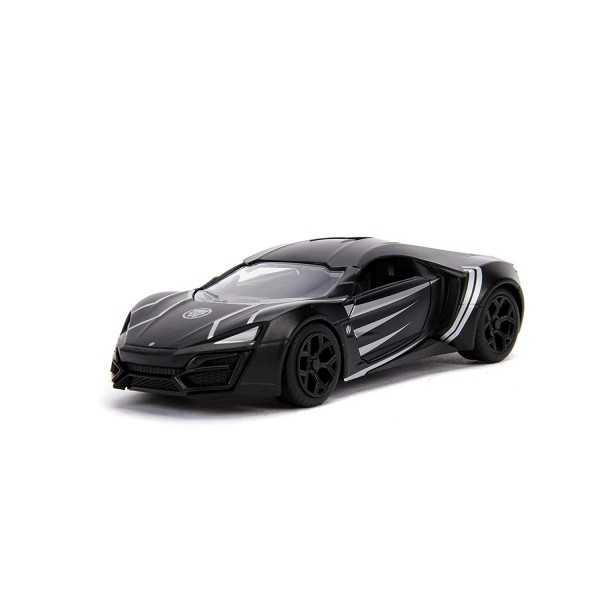 Macheta metalica - Black Panther - Lykan Hypersport   Jada Toys - 1