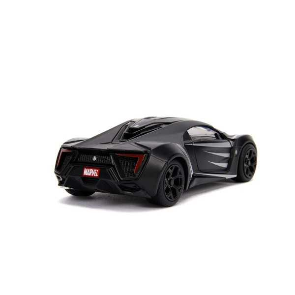Macheta metalica - Black Panther - Lykan Hypersport   Jada Toys - 2