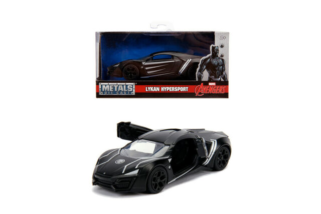 Macheta metalica - Black Panther - Lykan Hypersport | Jada Toys