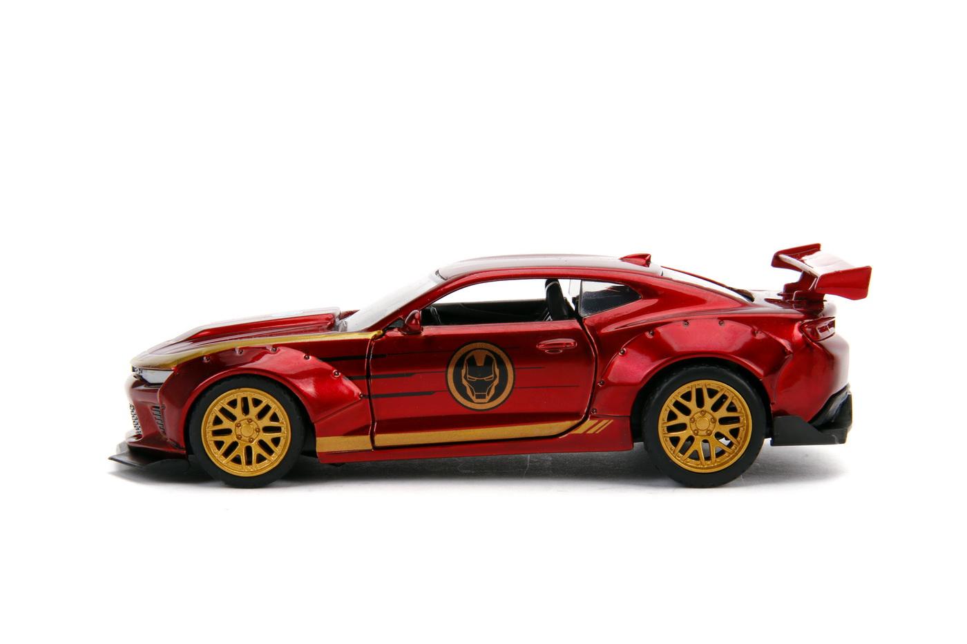 Masinuta Metalica Iron Man 2016 Chevy Camaro Ss Scara 1 La 32 | JadaToys - 6