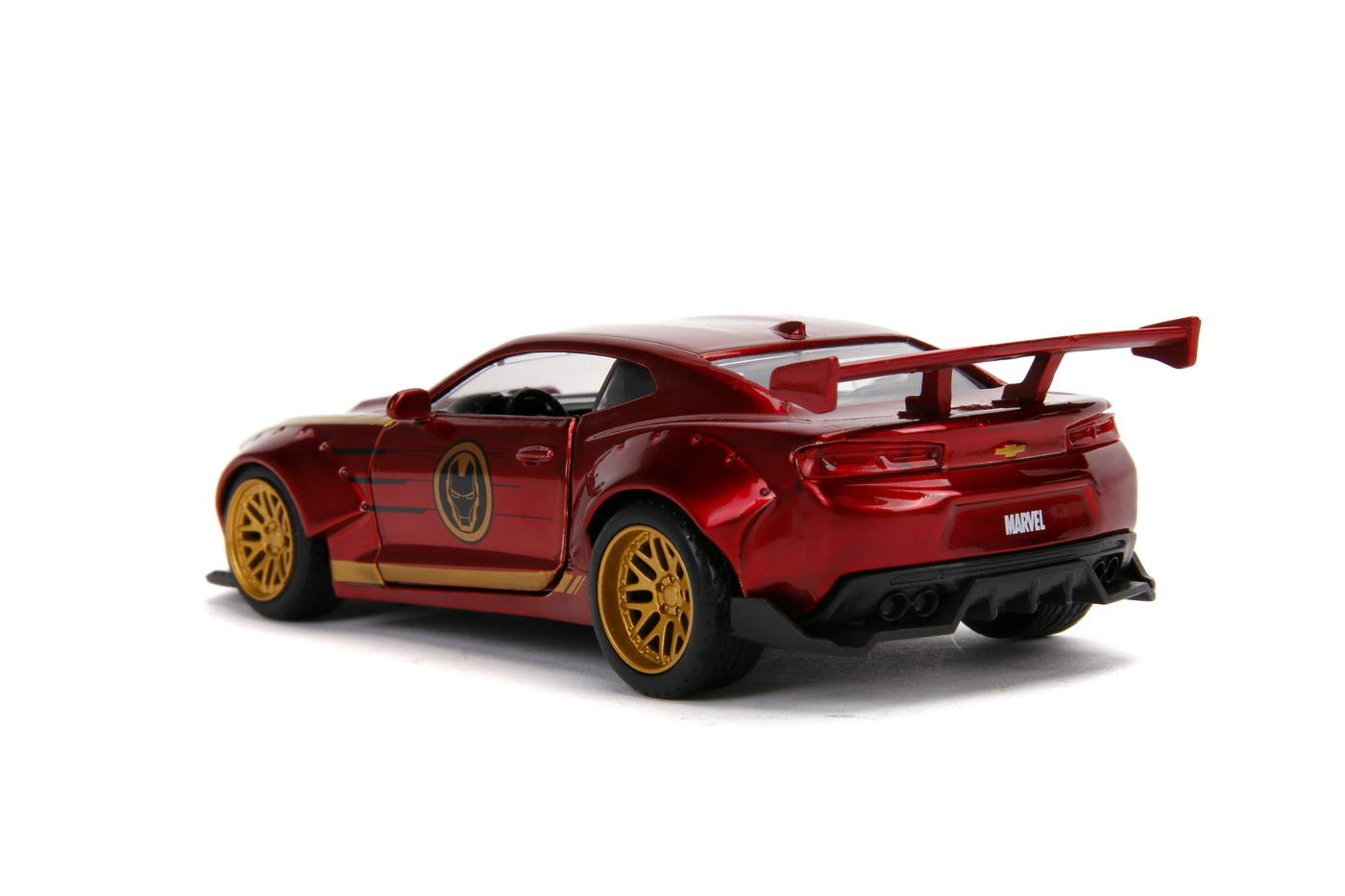 Masinuta Metalica Iron Man 2016 Chevy Camaro Ss Scara 1 La 32 | JadaToys - 7
