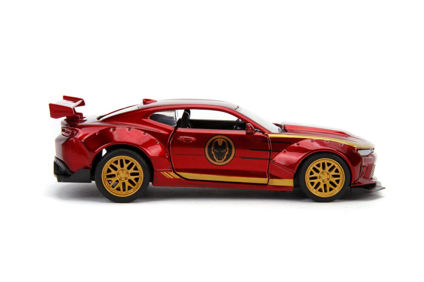 Masinuta Metalica Iron Man 2016 Chevy Camaro Ss Scara 1 La 32 | JadaToys - 8